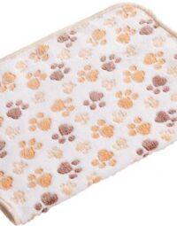3 Colori 40x60cm 75x50cm Carino Floreale Sonno Animale Domestico Caldo Zampa Di Stampa Tovagliolo Del Cane.jpg Q90